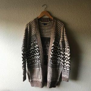 American Eagle Oversize Knit Cardigan